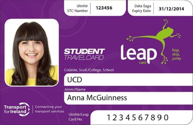 StudentTravelCard 2013